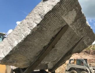 Gray Raw Block